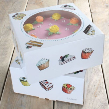 Pack 2 cajas de tartas 32 x 32 x 11.5 cm Holland