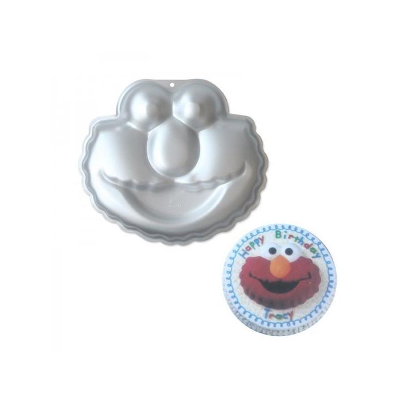 Molde bizcocho Elmo