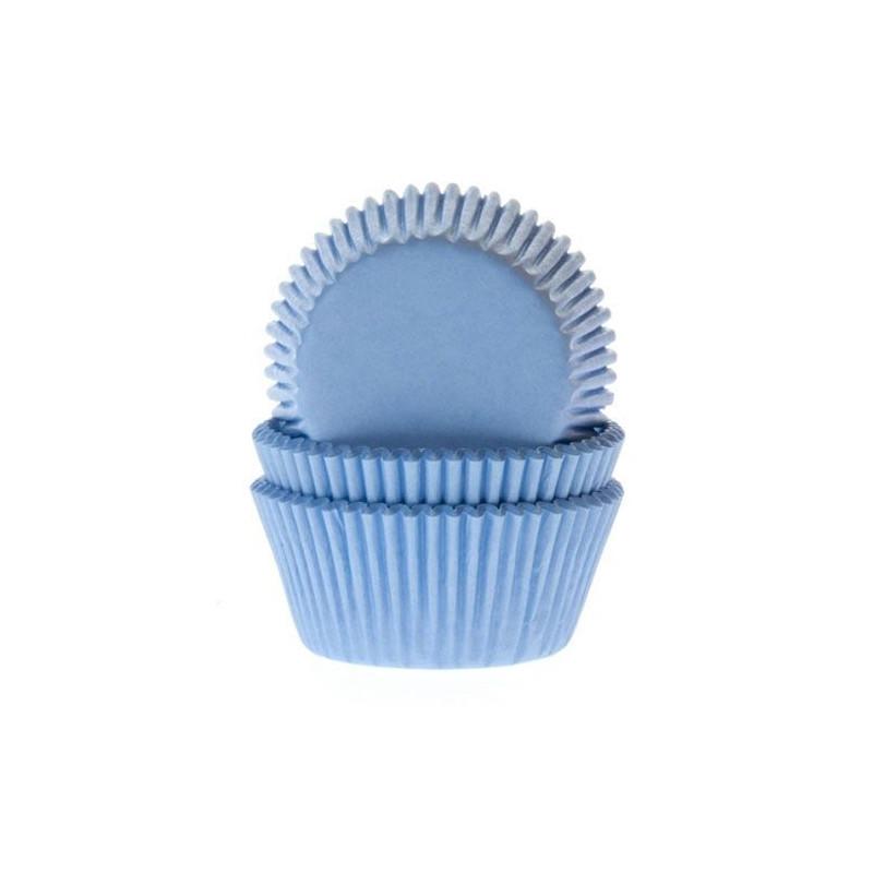 Cápsulas mini cupcakes Azul Cielo House of Marie