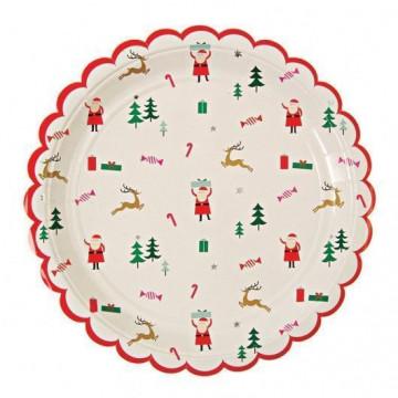 Plato fiesta Be Jolly Navidad