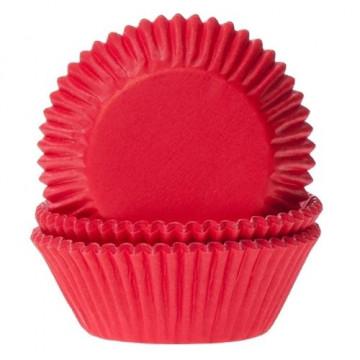Cápsulas cupcakes Rojas Velvet House of Marie