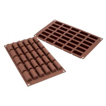 Molde Silicona para chocolate Mini Bûche SLK