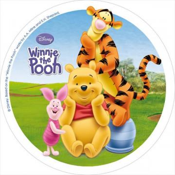 Oblea comestible Winnie The Pooh 1