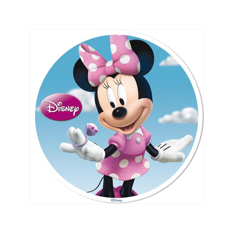 Oblea comestible Minnie y Mickey Mouse Amor 2