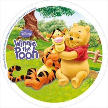 Oblea comestible Winnie The Pooh 3