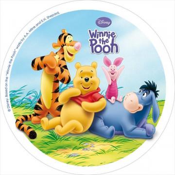 Oblea comestible Winnie The Pooh 4