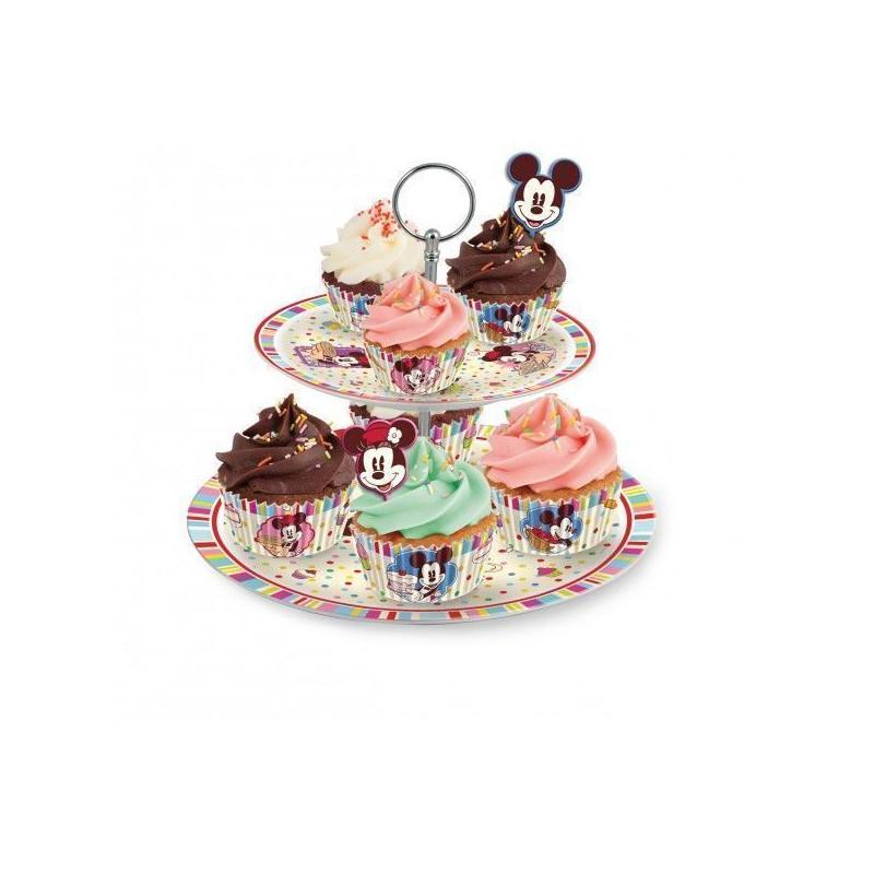 Stand presentación cupcakes pastelitos Family Bakery Disney