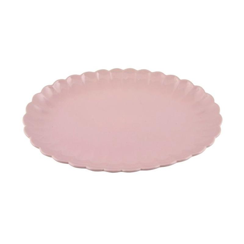 Plato Grande Ovalado Rosa