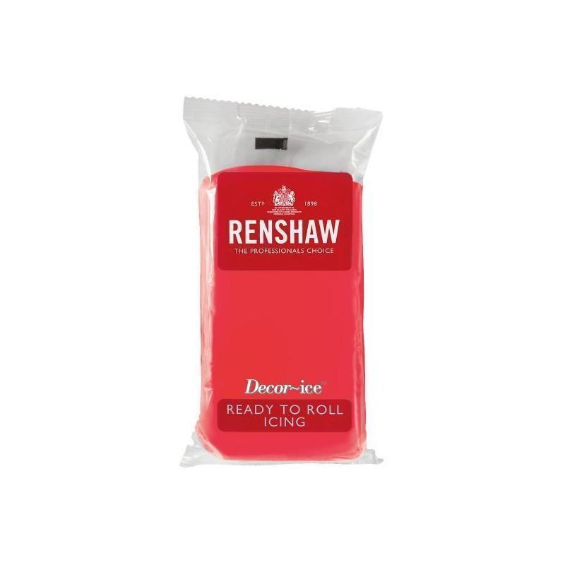 Fondant Renshaw Rojo 250gr