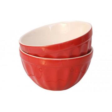 Bol de cerámica Rojo