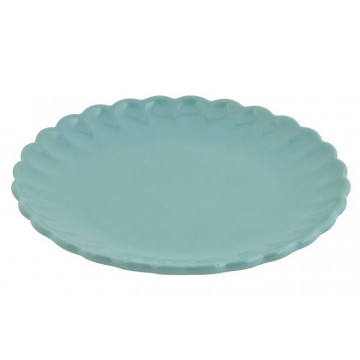 Plato de cerámica postre Turquesa