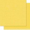 Papel doble cara Lunares Amarillo