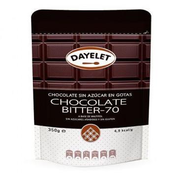 Chocolate negro 70% sin azúcar Dayelet 350 gr