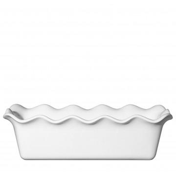 Molde rectangular de ceramica Blanco Émily Henry