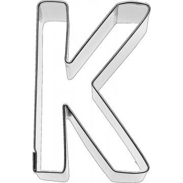 Cortante galleta letra K
