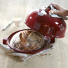 Molde Horno Cerámica de Pan Rojo Emily Henry
