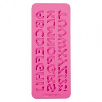 Molde silicona Alfabeto Tescoma