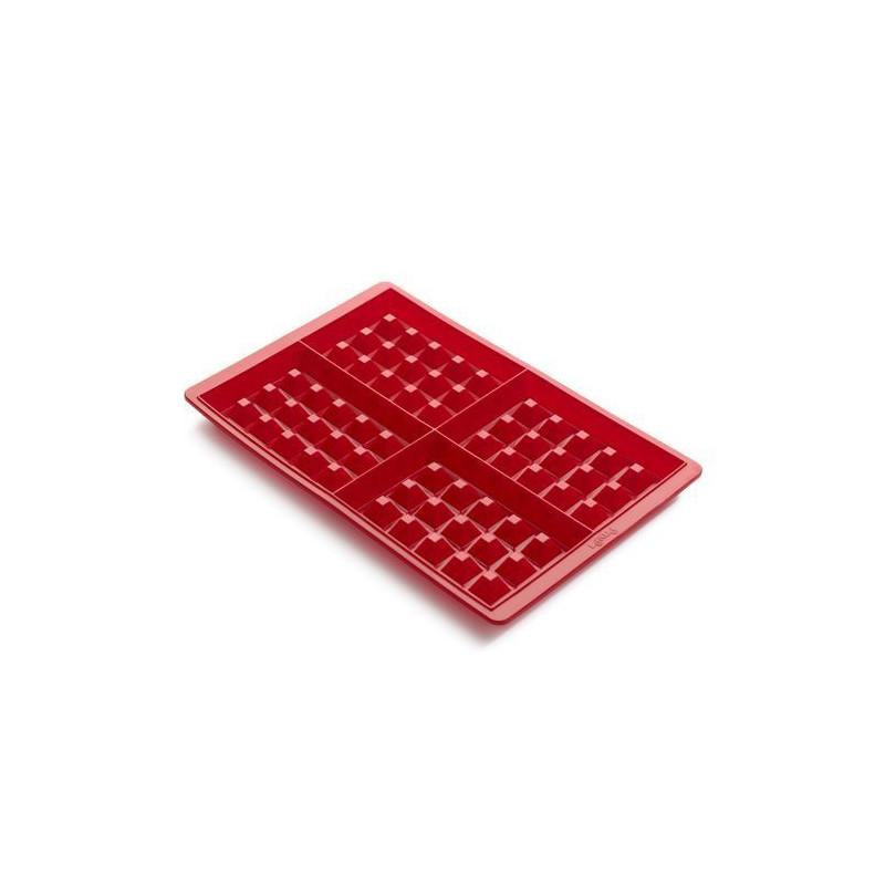 Molde silicona para Gofres 4 cavidades Lekué