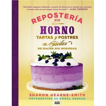 Libro Repostería sin Horno por Sharon Hearne-Smith