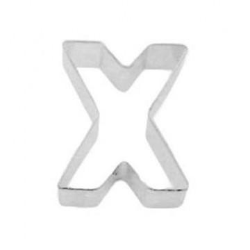 Cortante galleta letra X