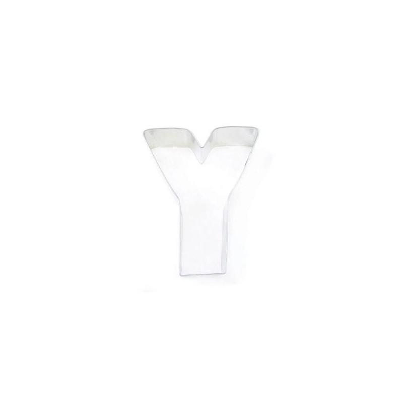 Cortante galleta letra Y