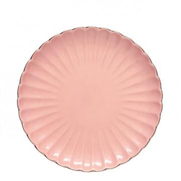Plato de cerámica postre Pastel Pink Green Gate