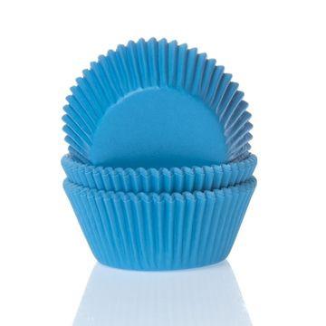 Capsulas cupcakes Azúl Cyan HoM