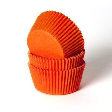 Capsulas cupcakes Naranja HoM