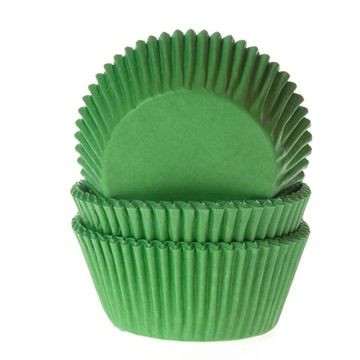 Cápsulas cupcakes Verdes House of Marie