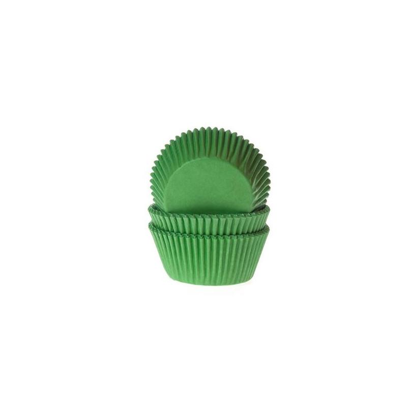 Capsulas cupcakes Verde HoM
