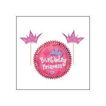 Set para cupcakes: Princess Wilton
