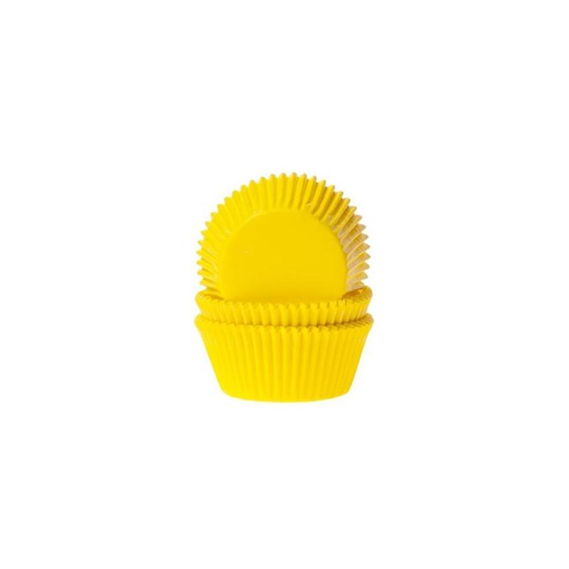 Capsulas cupcakes Amarillo HoM