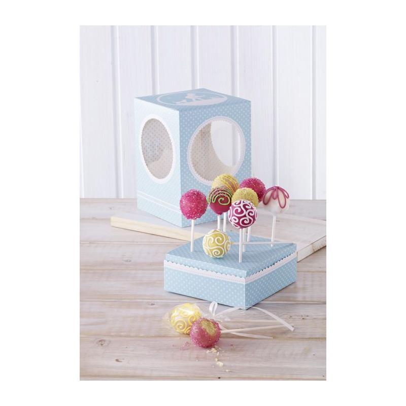 Caja Cakepops Vintage Memories