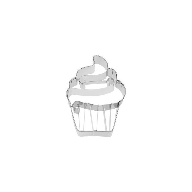 Cortante galleta 3D Cupcake Cream