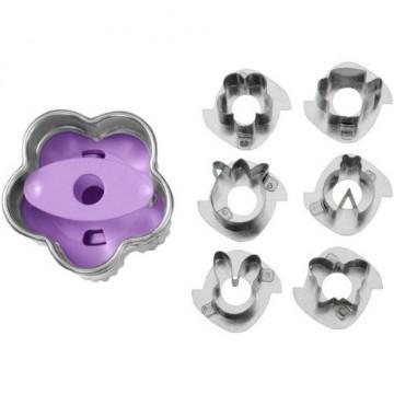 Cortante y perforador 7 piezas Linzer Cookie Cutter Pascua Wilton