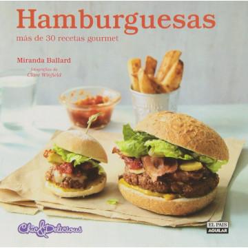 Libro Hamburguesas por Miranda Ballard