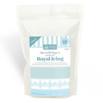 Preparado Royal Icing  Azul 500 gr