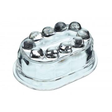 Molde cristal ovalado Vintage Gelatinas