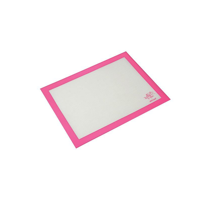 Plancha de silicona  40 x 30 cm  Fiberglass Rosa SLK