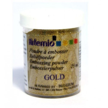Polvo embossing Oro