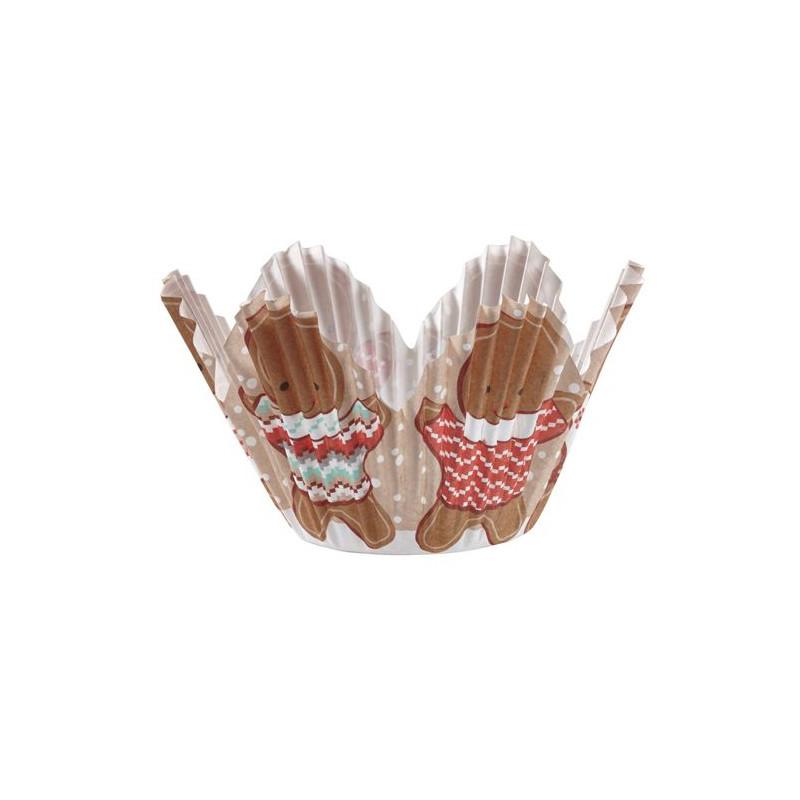 Cápsulas muffins Gingerbread Wilton