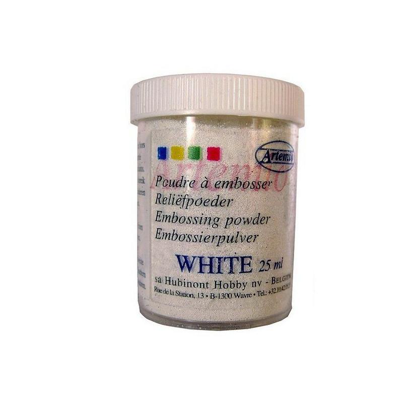 Polvo embossing Blanco