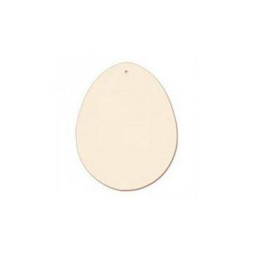 Pack 3 Huevos Madera 8.3 cm