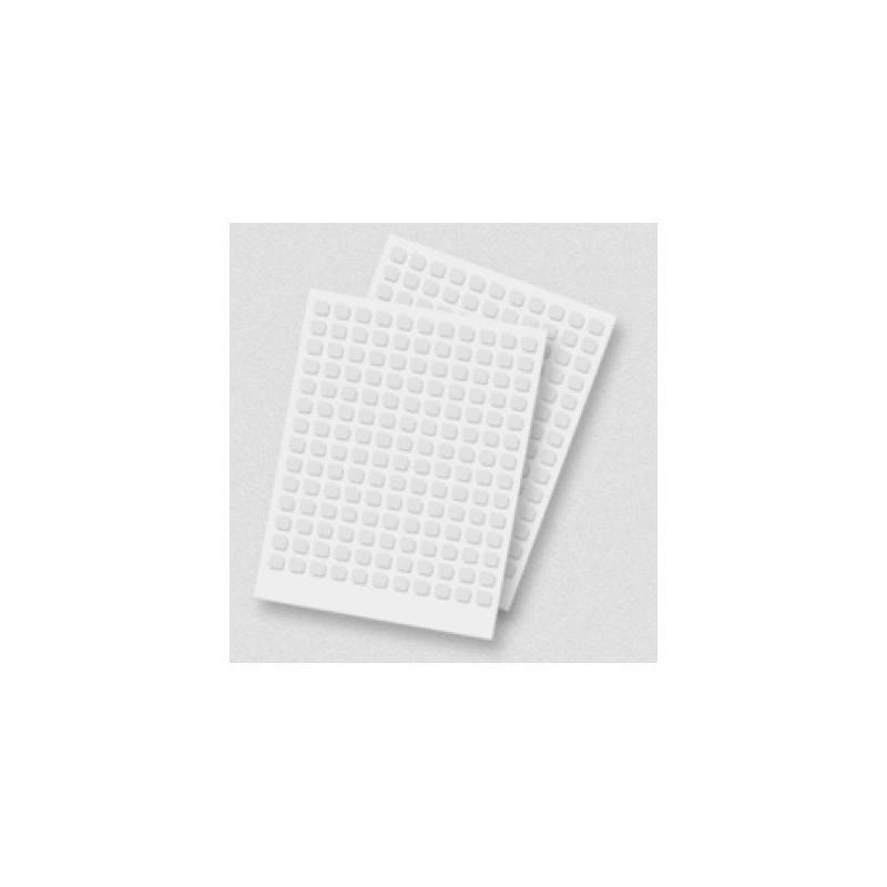 Adhesivos 3D Cuadrado Blanco