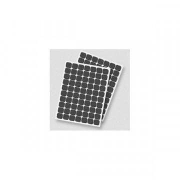 Adhesivos 3D Cuadrado Negro