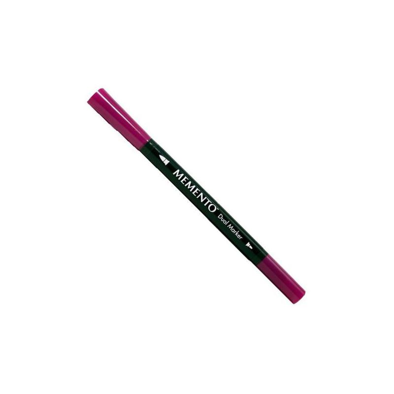 Rotulador doble punta Memento Violeta Lilac Posies