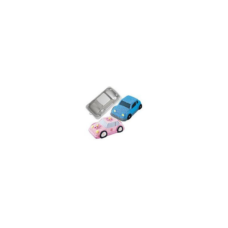 Molde bizcocho 3D coche Wilton