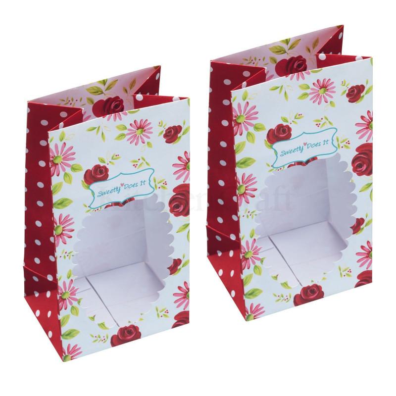 Pack 2 bolsas con ventanas Jardín Secreto