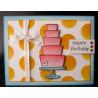 Set sellos transparentes Cake y Cupcake