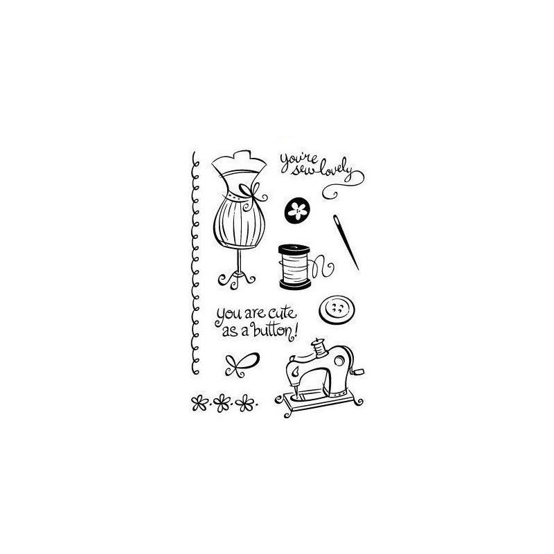 Set sellos transparentes Alta Costura